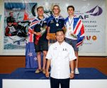 Dan Whitely ISAF Youth Worlds Bronze Medal